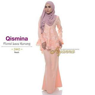 New arrival ! Floral lace kurung