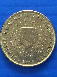 Euro 10 Cents , Y2001
