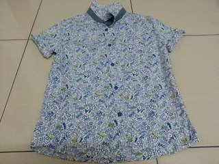 M&S Boys Shirt Size 9/10