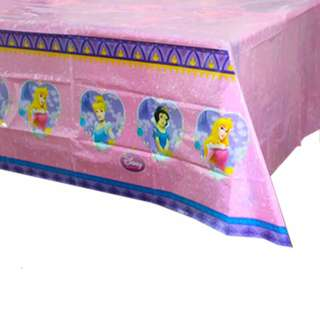 💕 Premium Range Disney Princess party supplies - party tablecloth/ table cover / table cloth