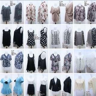 ATASAN/DRESS BUTIK IMPORT ECER/PAKET/BAL