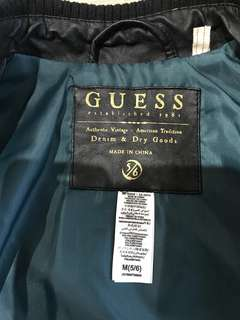 Guess kids leather jacket