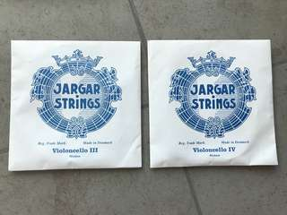 Jargar Strings G & C medium