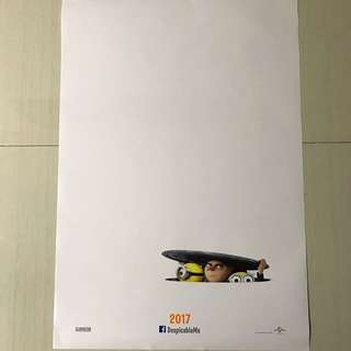 Dispicable Me movie poster