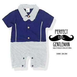 Gentleman Baby Romper - ZA204