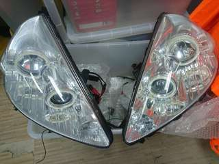 本田Fit GD3 魚眼頭燈一對