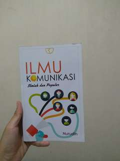 Buku Ilmu Komunikasi