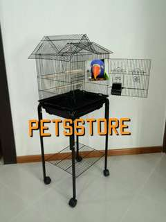 Cage with stand