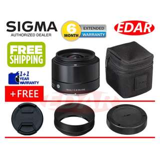 SIGMA 19mm F2.8 DN ART LENS (FOR SONY E-MOUNT LENS) ««ORIGINAL & OFFICIAL SIGMA»»