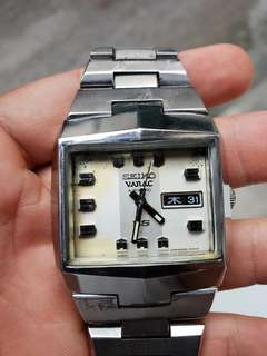 Jam tangan Super Rare King Seiko Vanac hi beat 28.800bph Full Original