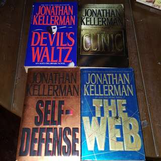 Jonathan Kellerman Books Bundle (4 pcs)
