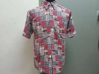 Baffy Patchwork Shirt L