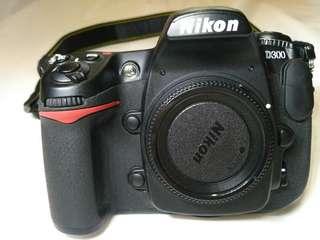 Nikon 藝康 d300 boby 機身
