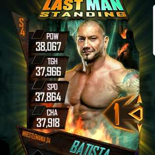 WTB: WWE Supercard Wrestlemania 34 Account