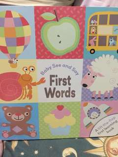 Baby see and say first words