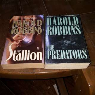Harold Robbins Books Bundle (2 pcs)
