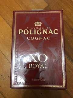 POLIGNAC XO 700m加50ml酒板,我以收藏了15年以上,1388元一大一細有意聯繫。
