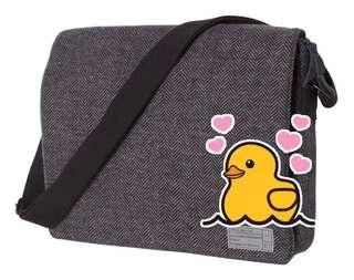 "HEX Messenger Bag for iPad MacBook 15"" NEW 全新單肩斜挎包袋"