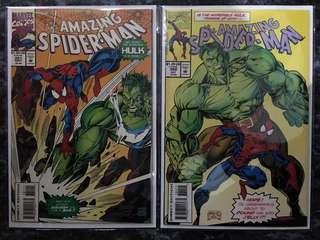 Amazing Spider-Man #381 & #382