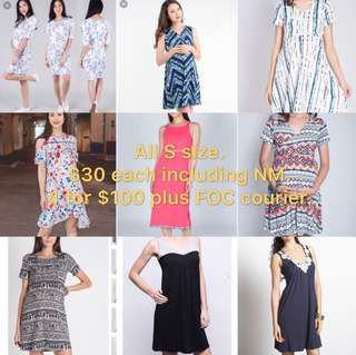 Maternity and Nursing Wear Mixed Brands JEC