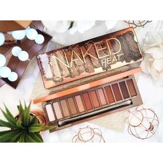 Readystock Inspired naked heat eyeshadow makeup palette