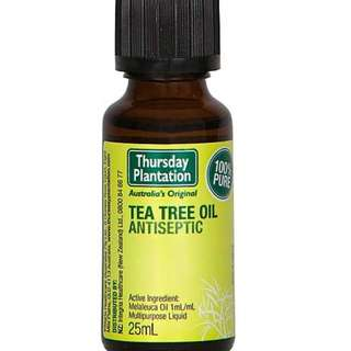 🚚 [25ml][FREE MAIL]Thursday Plantation Tea Tree Oil