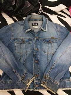 Dolce &  Gabbana Denim Jacket jeans