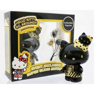 Hello Kitty Go Around Singapore : Hello Kitty Figurine - Super Gloss Edition