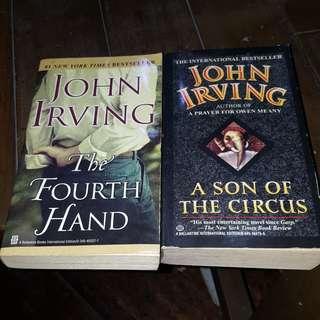 John Irving Books Bundle (2 pcs)