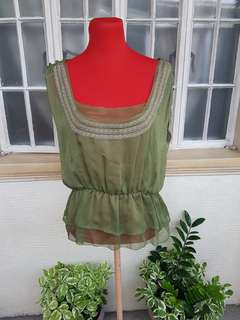 PRP Olive Green Top