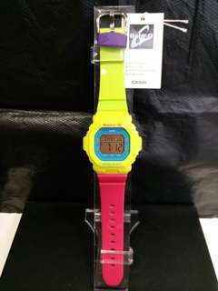 "BG-5607-9卡西歐品牌手錶""Casio""""Baby-G""日本機芯一年保養"