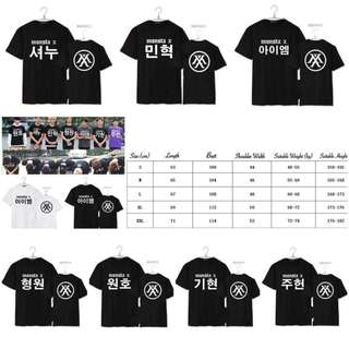 Monsta X Shortsleeve Tshirt