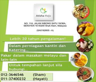 Servis Katering dan Kantin (Catering and Canteen Services)