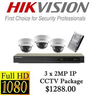HIKvision 1080P IP CCTV Package 3