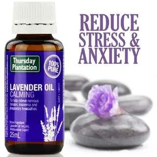 🚚 [25ml][FREE MAIL]Thursday Plantation Lavender Oil