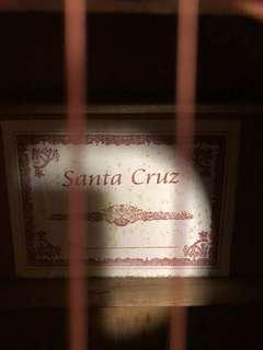 Santa Cruz Acoustic Limited Ed Guitar Swamp Ash Wood