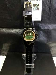 "BG-6901-1卡西歐品牌手錶""Casio""""Baby-G""日本機芯一年保養"