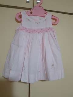 Baby pink dress (3 months old )