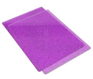 Sizzix cutting pad standard , purple glitter