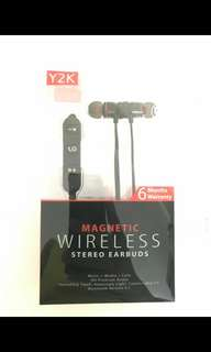 Y2K magnetic wireless stereo earbuds