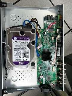 🚚 海康監視主機8路(含2T硬碟)不含鏡頭