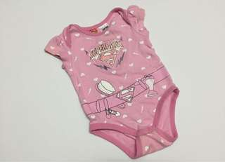 GIRL ROMPER SUPERBABY