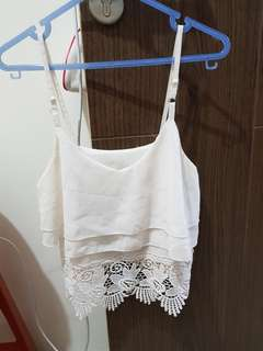 Crop top lace