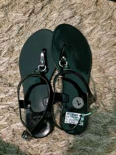 Coach Jelly Sandals Black