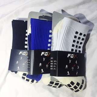 Brand-New Foxsox Football Soccer Sports Anti-Slip socks Grip Socks