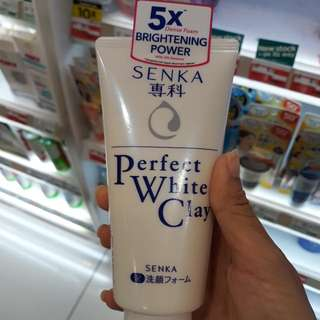 Senka Perfect White Clay 40g
