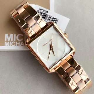 MK SQUARE AUTHENTIC WATCH