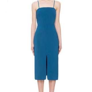 BNWT Keepsake teal dress in size S