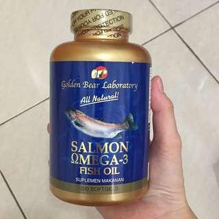 SUPLEMEN MAKANAN FISH OIL SALMON OMEGA-3