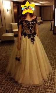 Beige Gown